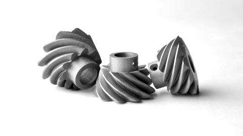 ExOne 3D printed these gears in 17-4PH stainless steel. Part requests for a material not eligible, or too large, for Quick Ship delivery can be quoted through ExOne's Premium Quote Service at www.exone.com/quickship (Photo: Business Wire)