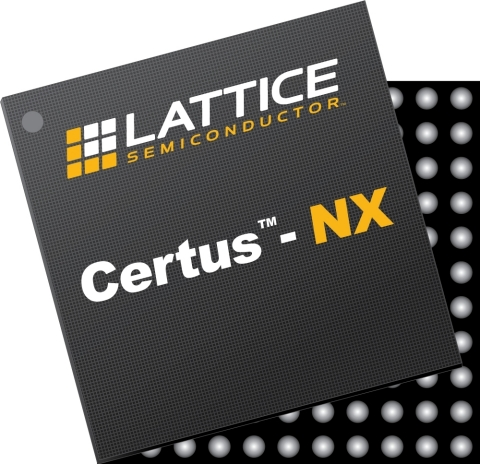 The new Certus™-NX Low Power, General Purpose FPGA from Lattice Semiconductor (Photo: Business Wire)