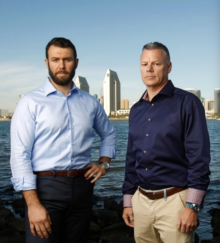 Baron & Budd Shareholders John Fiske (left) and Scott Summy (right) (Photo: Business Wire)