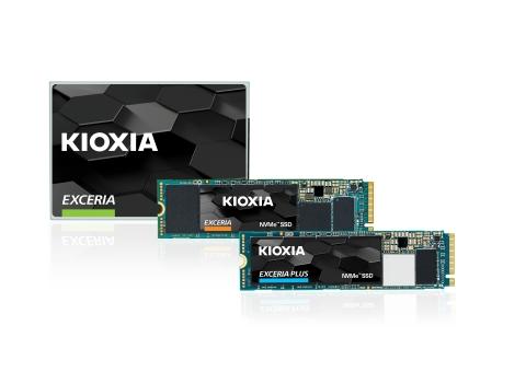 「キオクシア(KIOXIA)」ブランドのパーソナル向けSSD製品(写真:ビジネスワイヤ)