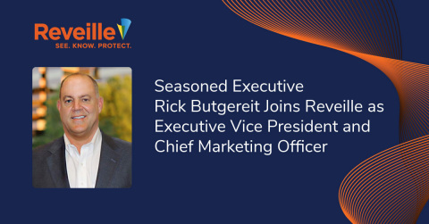 Rick Butgereit Joins Reveille as Executive Vice President and Chief Marketing Officer. (Photo: Business Wire)