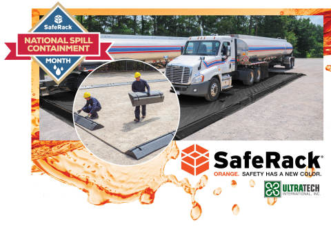 National Spill Containment Month. SafeRack (Graphic: Business Wire)