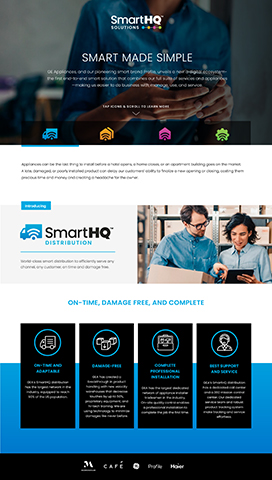 SmartHQ Solutions Interactive Fact Sheet (Image: GE Appliances, a Haier company)