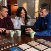 Empire Today helps homeowners pick the right floor for their needs and budget, and that starts by listening to their needs and answering their questions. (Photo: Business Wire)