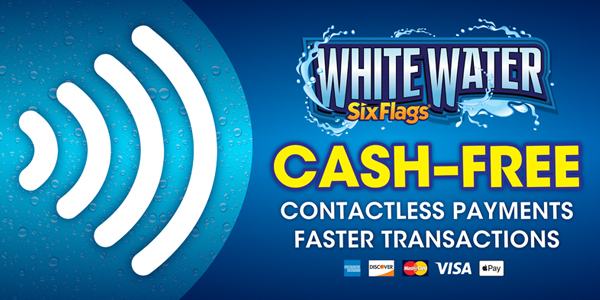 Six Flags White Water To Offer All New Cash Free Experience Business Wire