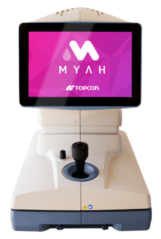 MYAH is the perfect instrument for eyecare professionals interested in building, managing, and growing a myopia service. (Photo: Business Wire)