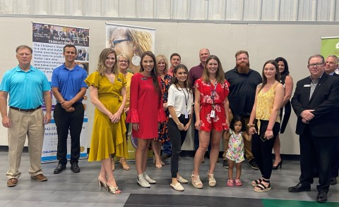 The Federal Home Loan Bank of Dallas and five member banks – Centennial Bank, Generations Bank, First National Bank Fort Smith, First Security Bank and Simmons Bank – awarded Partnership Grant Program (PGP) funds to the Children's Shelter of Fort Smith, Arkansas. (Photo: Business Wire)