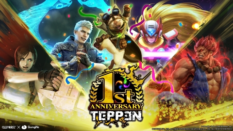 GungHo Online Entertainment - TEPPEN 1st Anniversary (Graphic: Business Wire)