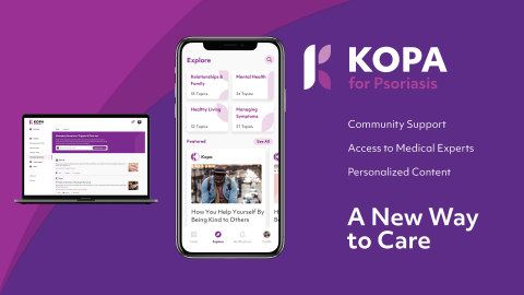 Happify Health Launches Kopa, a New Care Delivery Platform for People with Chronic Conditions (Photo: Business Wire)