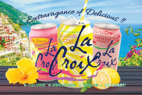 The Latest Flavors of LaCroix! (Photo: Business Wire)