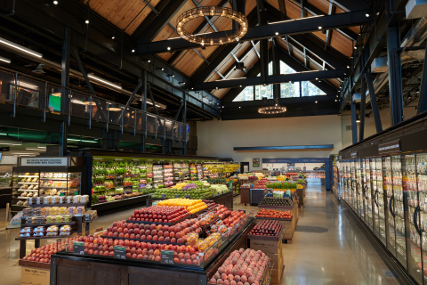 Produce department at Raley's O-N-E Market in Truckee, CA (Photo: Business Wire)