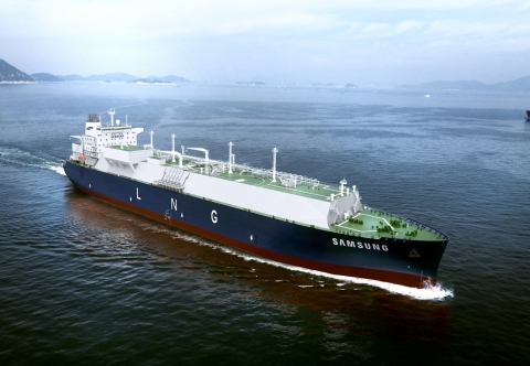Samsung Heavy Industries LNG Carrier (Photo: Business Wire)
