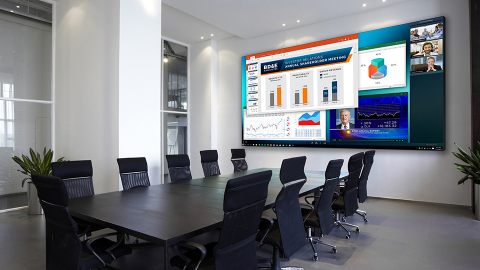 Planar announces enhancements to popular Planar TVF Series LED Video Walls (Photo: Business Wire)