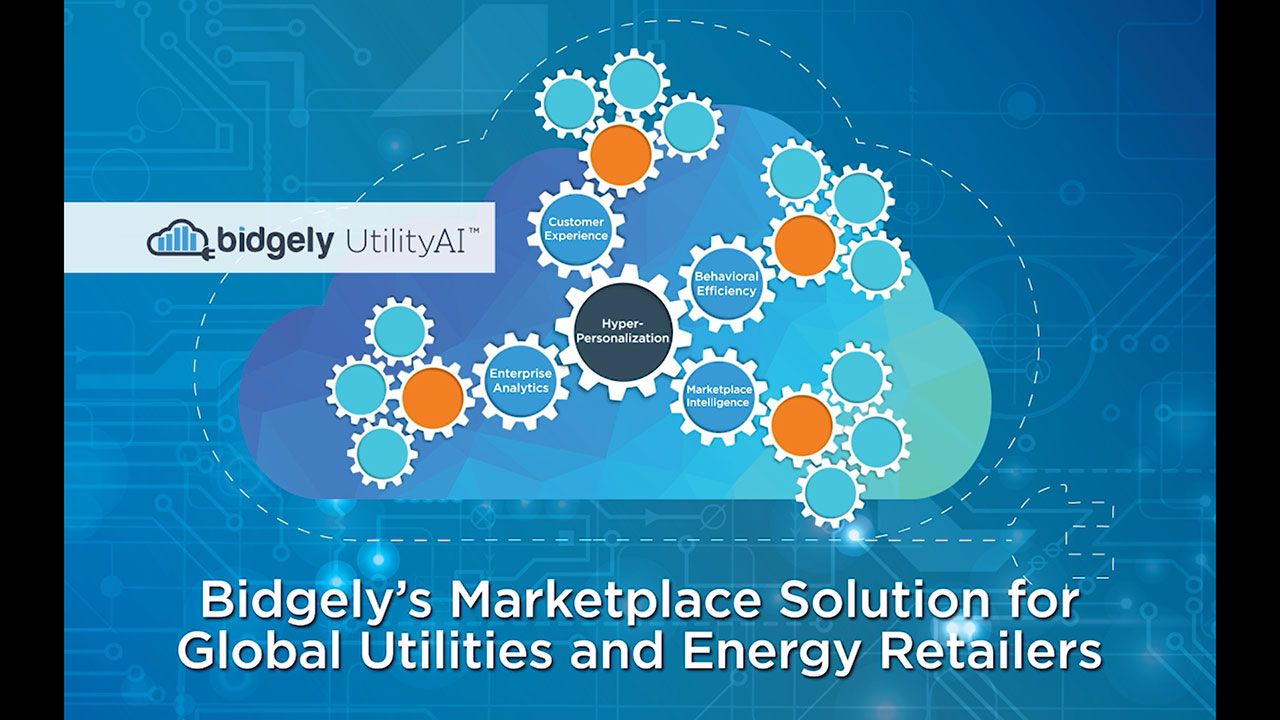 The Bidgely Marketplace Solution uses patented artificial intelligence (AI) techniques to personalize the utility marketplace experience - increasing customer satisfaction, supporting DSM programs and enabling new revenue streams for utilities.