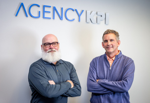 AgencyKPI Co-Founders, Bobby Billman and Trent Richmond. (Photo: Business Wire)