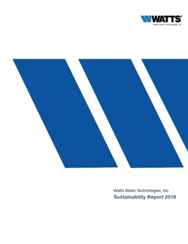 Watts publishes its 2019 Sustainability Report. (Graphic: Business Wire)