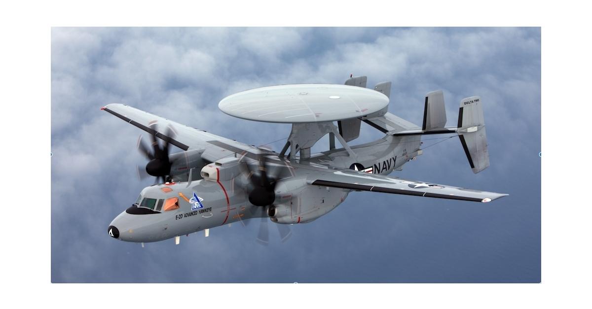 E 2D Hawkeye Photo courtesy of the U S  Navy.