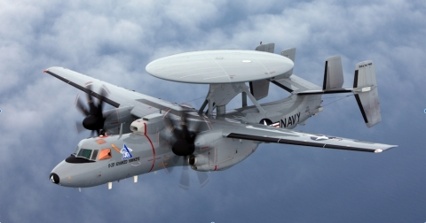 E-2D Hawkeye Photo, courtesy of the U.S. Navy (Photo: Business Wire)