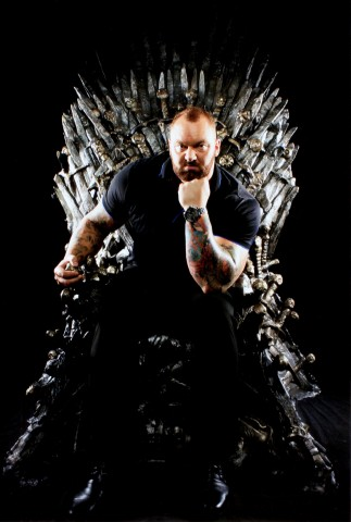 "Champions + Legends announces Thor ""The Mountain"" Björnsson, winner of multiple Strongest Man competitions, world deadlift record holder, and actor in the international hit TV series, Game of Thrones, as a founding athlete partner. (Photo: Business Wire)"