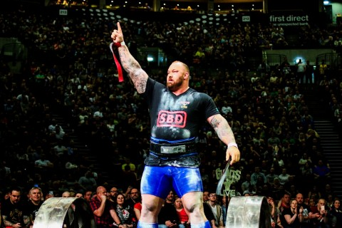 """Champions + Legends announces Thor """"The Mountain"""" Björnsson, the first man to win the Arnold Strongman Classic, Europe's Strongest Man and World's Strongest Man in the same year as a founding athlete partner. (Photo: Business Wire)"""