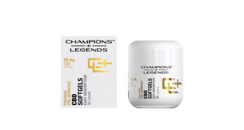 Champions + Legends offers a line of custom-formulated, full spectrum hemp-derived CBD products, designed to help all athletes, fitness fanatics and outdoor enthusiasts prepare, perform and recover from training and competing at a high level. (Photo: Business Wire)