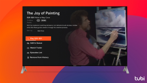 The Joy of Painting on Tubi (Photo: Business Wire)