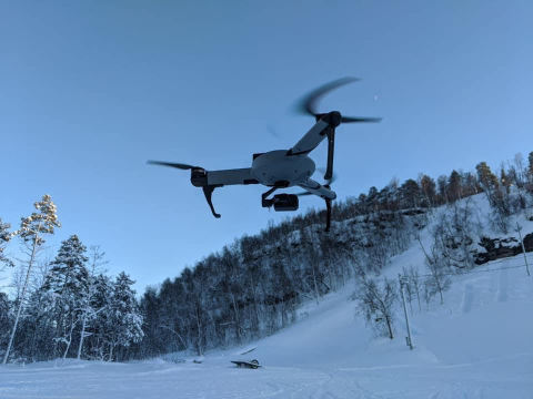AtlasPRO operation in NPAID's Arctic SAR Training (Photo: Business Wire)