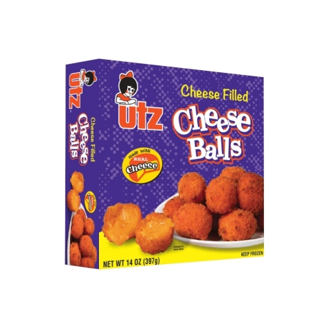 NEW Utz® Cheese-Filled Cheese Balls (Photo: Business Wire)
