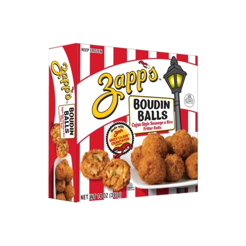 NEW Zapp's® Boudin Balls. (Photo: Business Wire)