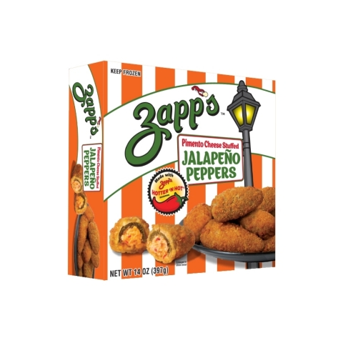 NEW Zapp's® Pimento Cheese Stuffed Jalapeño Peppers. (Photo: Business Wire)
