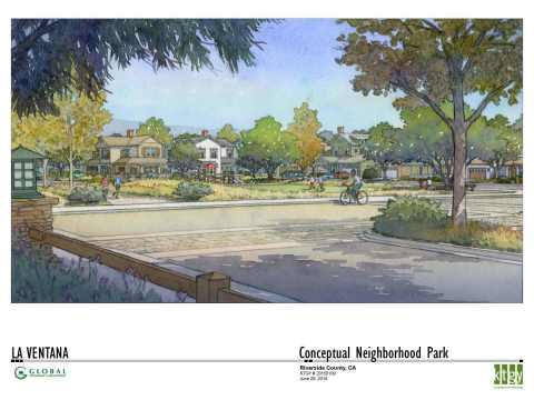 Braverde Neighborhood Park Entrance (Graphic: Business Wire)
