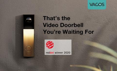 Vacos Video Doorbell (Photo: Business Wire)