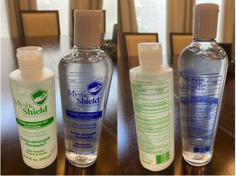 Images of Mystic Shield Protection Topical Solution Bottle (Photo: Business Wire)