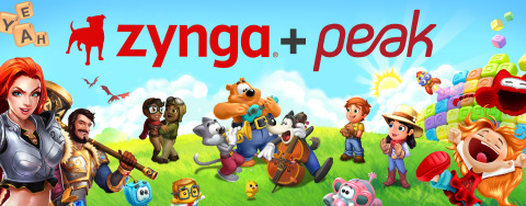 Zynga Closes Transformational Acquisition of Istanbul-based Peak; Expands Forever Franchise Portfolio with Toon Blast and Toy Blast (Graphic: Business Wire)