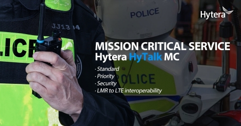 The Key Features of Hytera HyTalk MC (Photo: Business Wire)