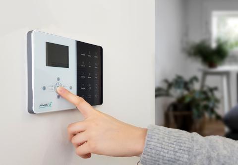 Alarme de maison IP/GSM IPEOS - Atlantic'S