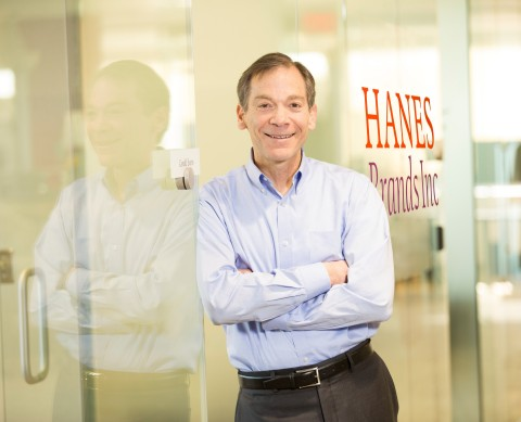 HanesBrands Chief Executive Officer Gerald W. Evans Jr. has been recognized as a most-admired CEO in the Piedmont Triad, North Carolina, region with a 2020 C-Suite Award from the Triad Business Journal. (Photo: Business Wire)