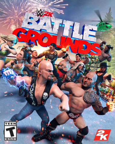 2K today announced that WWE® 2K Battlegrounds, the arcade-style brawler that will bring over-the-top WWE action to a new level of intensity, will release worldwide on September 18, 2020 for the PlayStation®4 system, the Xbox One family of devices, including the Xbox One X and Windows PC via Steam, Nintendo Switch™ system and Stadia. Featuring a roster of more than 70 WWE Superstars and Legends at launch, with additional Superstars to be released thereafter, WWE 2K Battlegrounds is now available for pre-order in digital formats and at participating retailers. (Photo: Business Wire)
