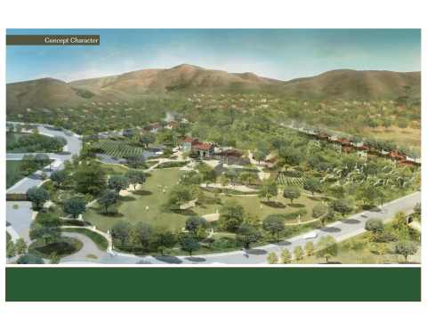 Williams Ranch Aerial Rendering (Photo: Business Wire)