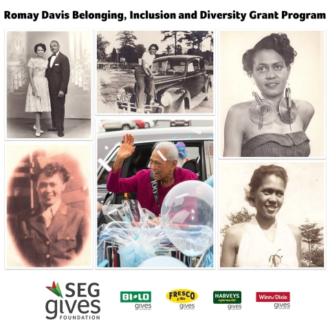 The namesake for the Romay Davis Belonging, Inclusion and Diversity Grant Program is 20-year Winn-Dixie associate, Romay Davis. (Photo: Business Wire)