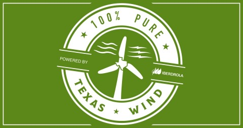 Texans can save up to $500 by switching to 100% pure Texas wind energy from Iberdrola Texas. (Graphic: Business Wire)