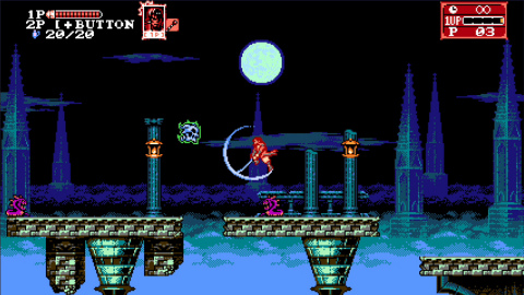 Bloodstained: Curse of the Moon 2 will be available on July 10. (Photo: Business Wire)