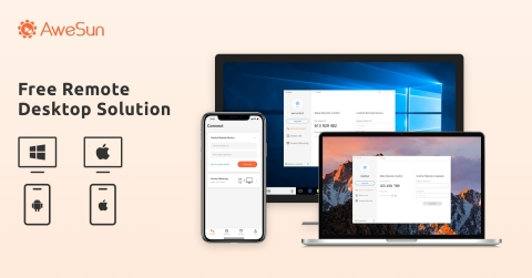 AweSun Remote Desktop for Multi-Platform Remote Access (Graphic: Business Wire)