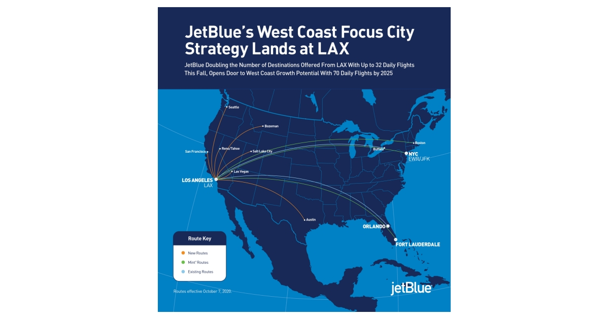 West Coast Focus City Strategy Lands at LAX.'