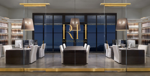 RH INTERIOR DESIGN FIRM & ATELIER AT RH MARIN, THE GALLERY AT THE VILLAGE (Photo: Business Wire)