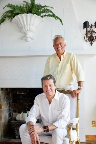 Mark Badgley & James Mischka, co-founder of Badgley Mischka (Photo: Glamhive)