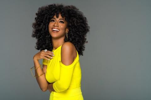 Africa Miranda, TV Host | Author | Beautypreneur | Digital Media Personality. Founder of Beauty by Africa Miranda (Photo: Glamhive)