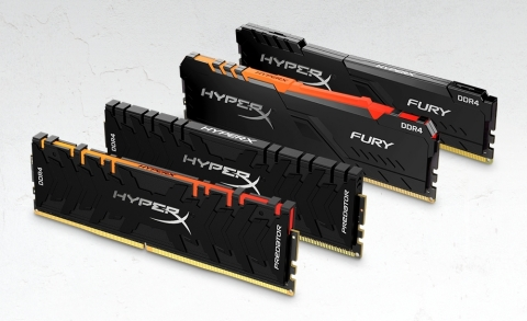 HyperX DRAM Family (Photo: Business Wire)