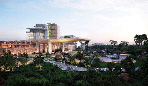 Exterior view of Grand Hyatt Limassol (Photo: Business Wire)