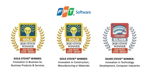 FPT Software's products won two gold and one silver at the 2020 Asia-Pacific Stevie® Awards. (Photo: Business Wire)